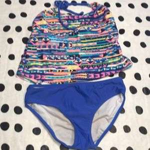 GUC 2 Piece bathing suit size 14